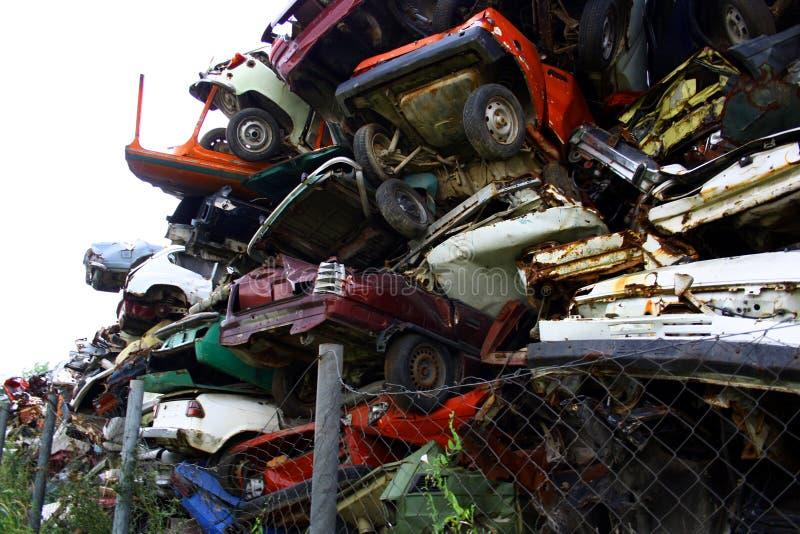 scrapyard zdjęcie royalty free