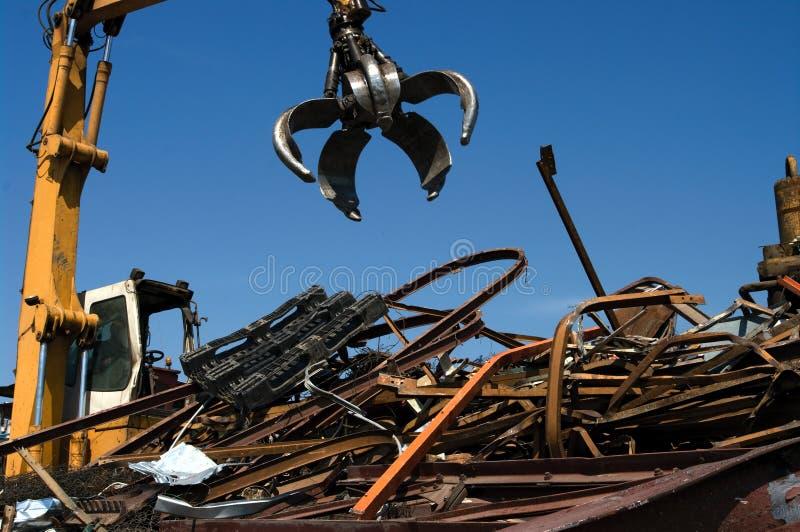 Scrapyard Grabscher stockfotos