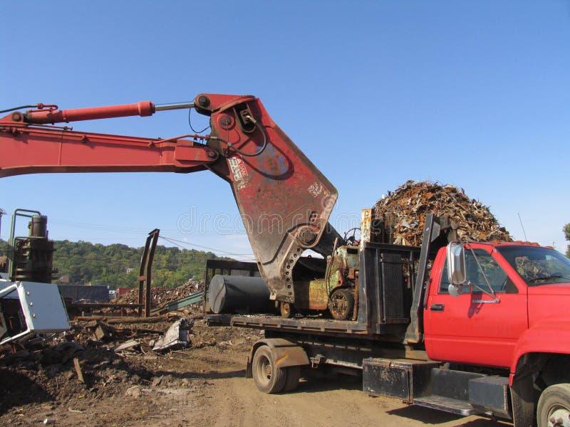 scrapyard sceny. fotografia stock