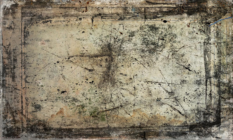 Scratched antique background royalty free stock photo