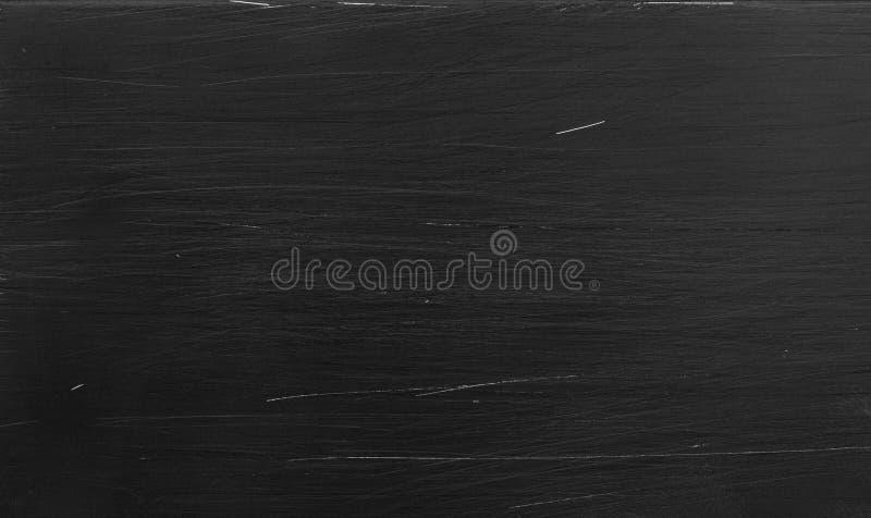Scratched black aluminium background stock image