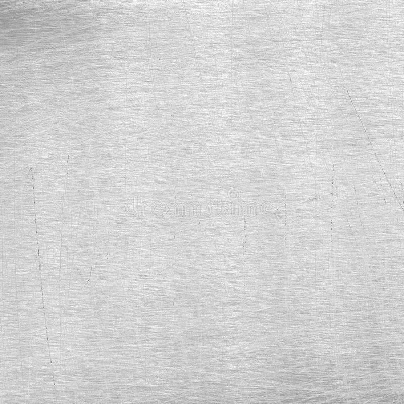 Scratched grey metal texture. Scratched grey metal background, aluminum texture royalty free stock image