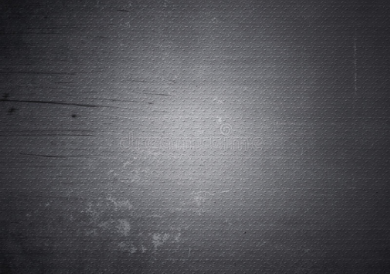 Scratched grunge metal texture. Background royalty free stock photography