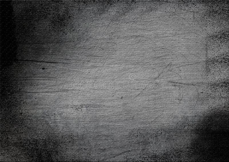 Scratched grunge metal texture. Scratched dark grunge metal texture royalty free stock photography