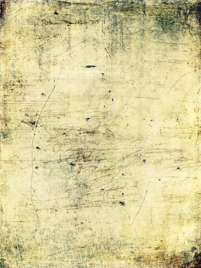 Scratched & grungy background stock illustration