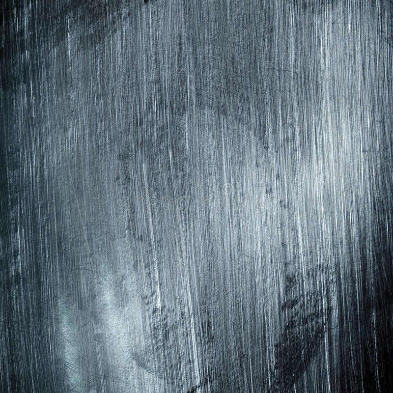 Scratched metal background. A scratched metal background pattern stock photography