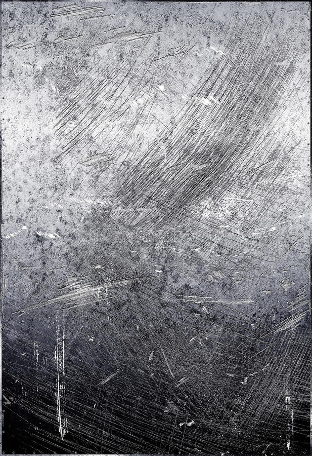 Free Scratched Metal Grunge Royalty Free Stock Photography - 17206717