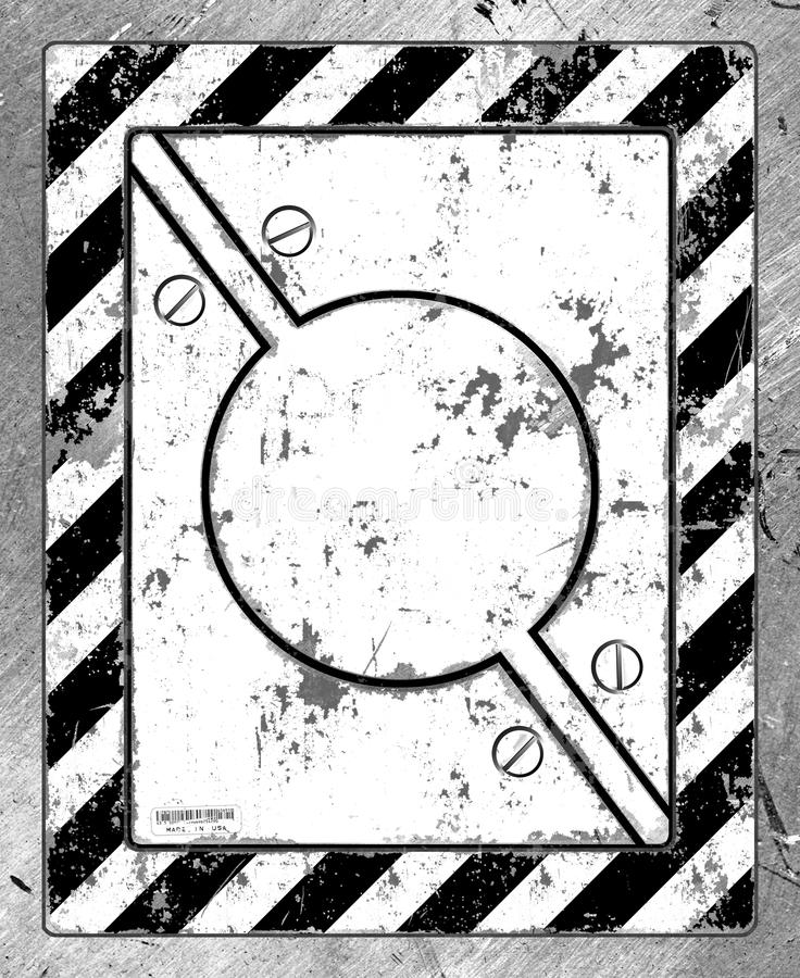 Download Scratched Metal Safety Device Stock Illustration - Image: 18756676