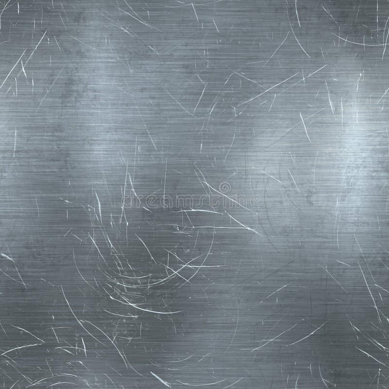 Scratched Metal Seamless Texture Stock Illustration - Illustration of frame, image: 93458741