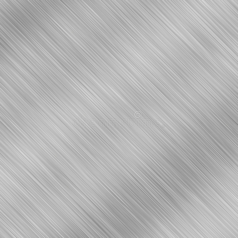 Scratched metal texture stock illustration