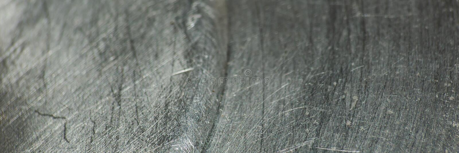 Scratched metal texture. Is macro stock images