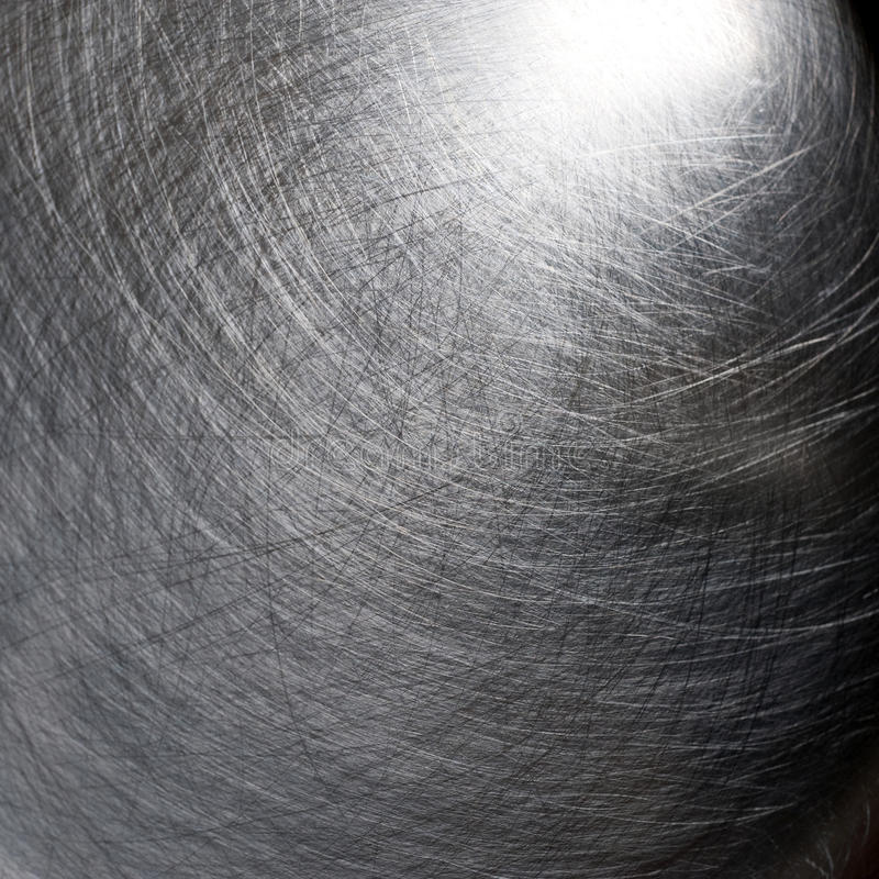 Free Scratched Metal Texture, Silver Stock Photography - 12180932