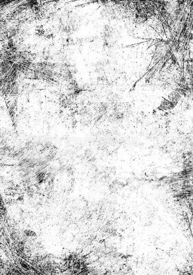 Scratched texture stock illustration