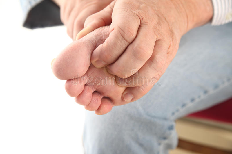 Download Scratching bottom of foot stock image. Image of rash - 25203443