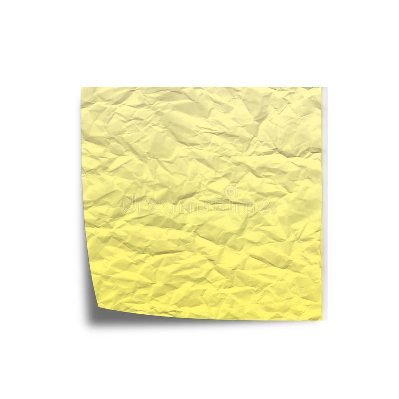 Download Scratchy Note Paper On White Back Ground Stock Image - Image of notice, list: 39500691