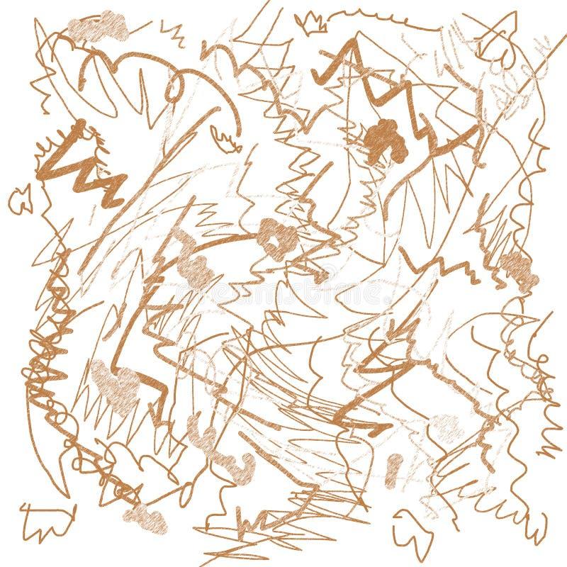 Download Scrawl drawing stock illustration. Illustration of beautiful - 6461559