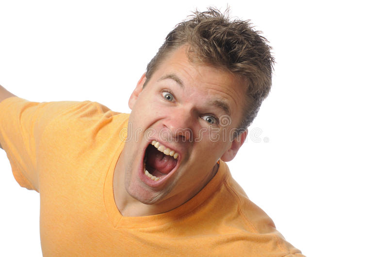 Download Scream stock photo. Image of wrath, angry, rage, aggravate - 17965234