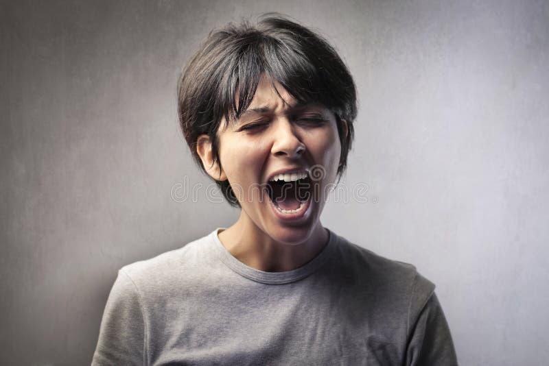 Scream Stock Photos