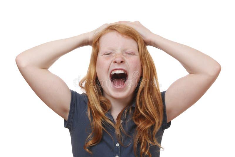 scream image libre de droits
