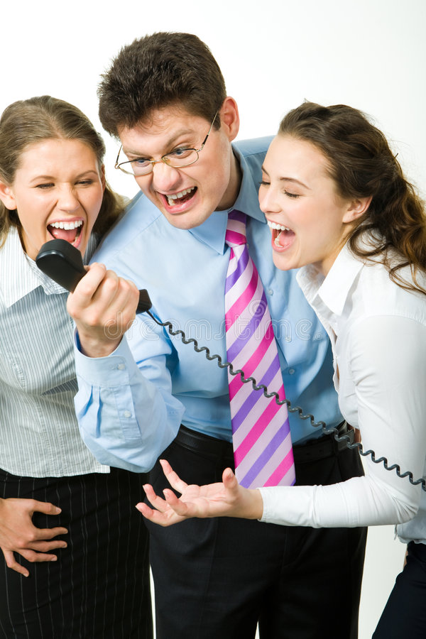 Download Scream stock photo. Image of associates, communication - 4983438