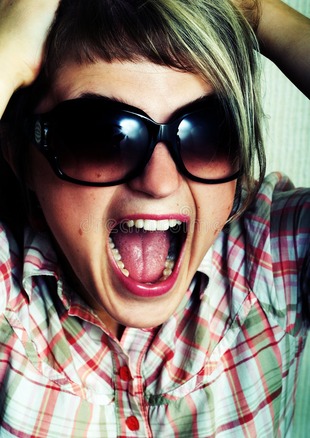Download Scream. Royalty Free Stock Images - Image: 5432529
