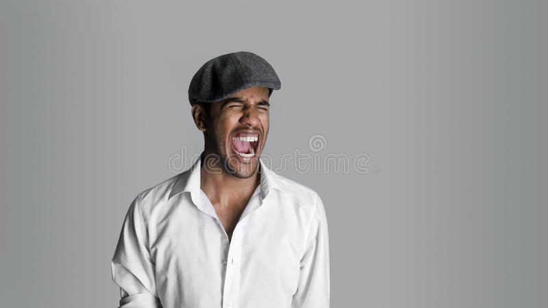 Scream Out Loud Royalty Free Stock Photos