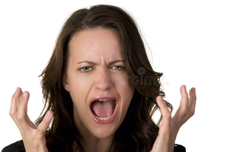 Screaming Стоковые Фотографии RF