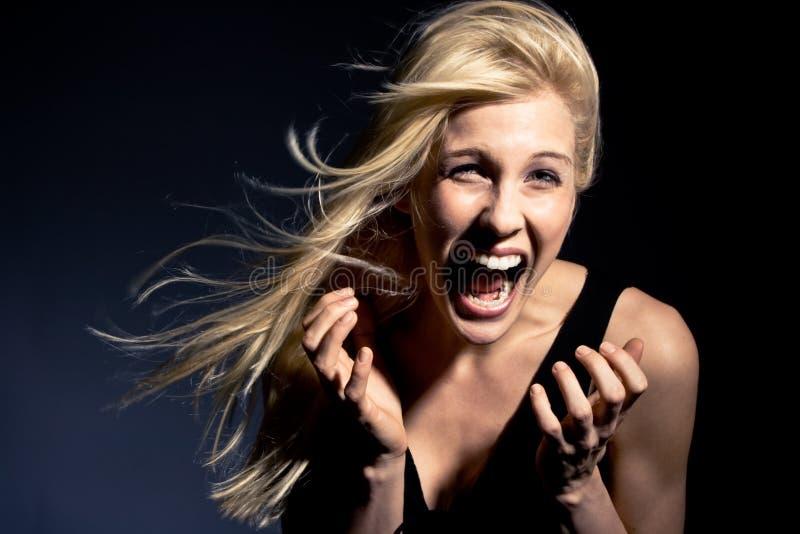 screaming стоковая фотография