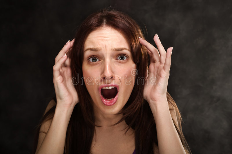 Download Screaming stock image. Image of mouth, concepts, lips - 7610047