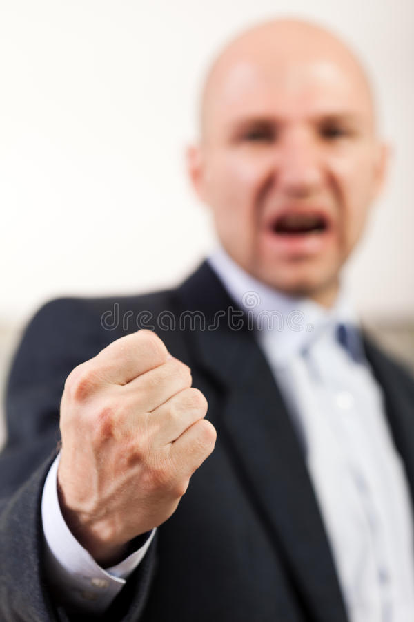 Download Screaming angry men fist stock image. Image of adult - 19874495