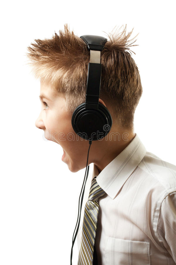 Download Screaming Boy Royalty Free Stock Photo - Image: 17176605