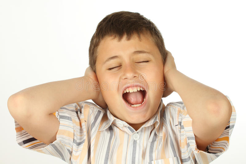 Download Screaming Boy Royalty Free Stock Images - Image: 19820739