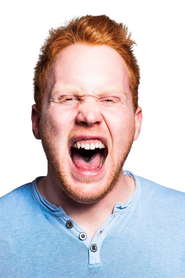 Screaming Boy Stock Photography