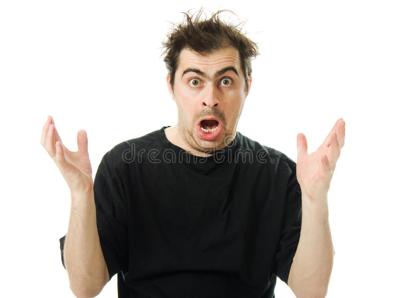 Download Screaming From Despair A Man Stock Image - Image: 27433889