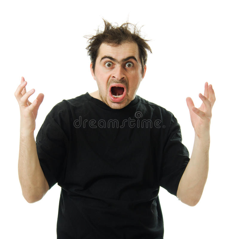 Download Screaming From Despair A Man Stock Photo - Image: 27433902