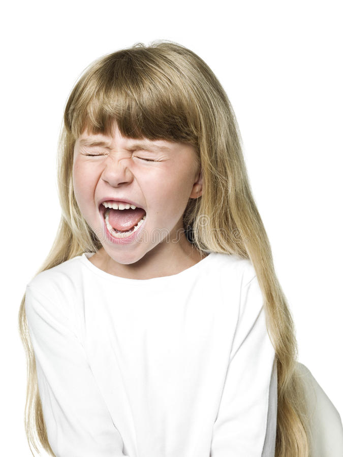 Download Screaming Girl Stock Photos - Image: 28062523