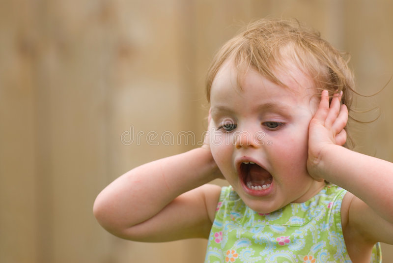 Download Screaming girl stock image. Image of unhappiness, girl - 2815927