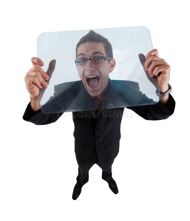 Download Screaming man stock image. Image of price, excited, hooray - 15256059