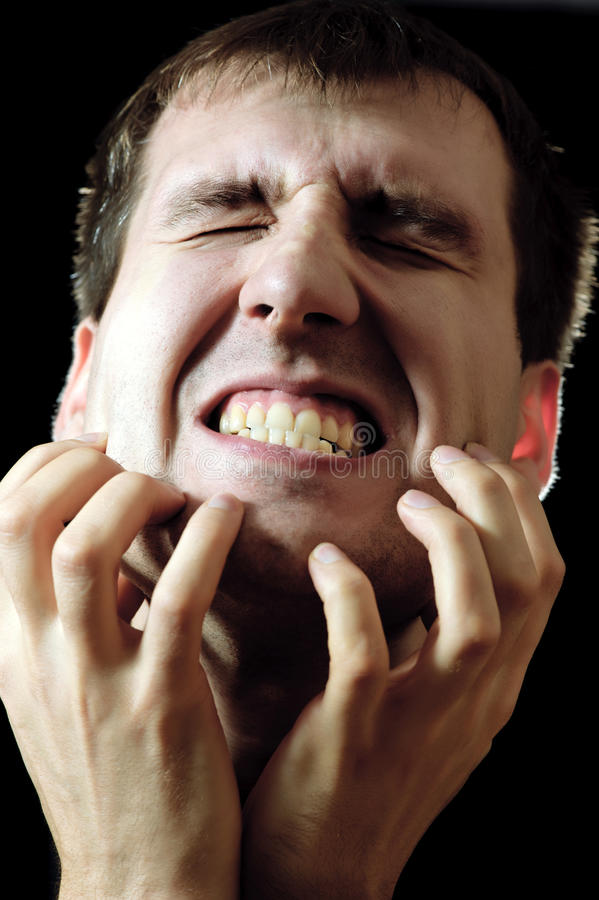 Download Screaming man stock photo. Image of people, shadow, mouth - 17529122