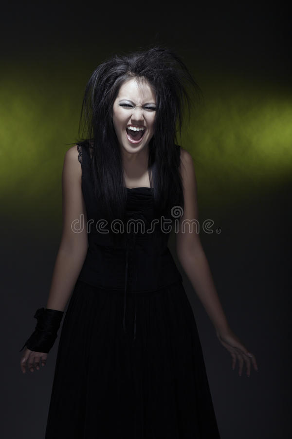 Screaming witch
