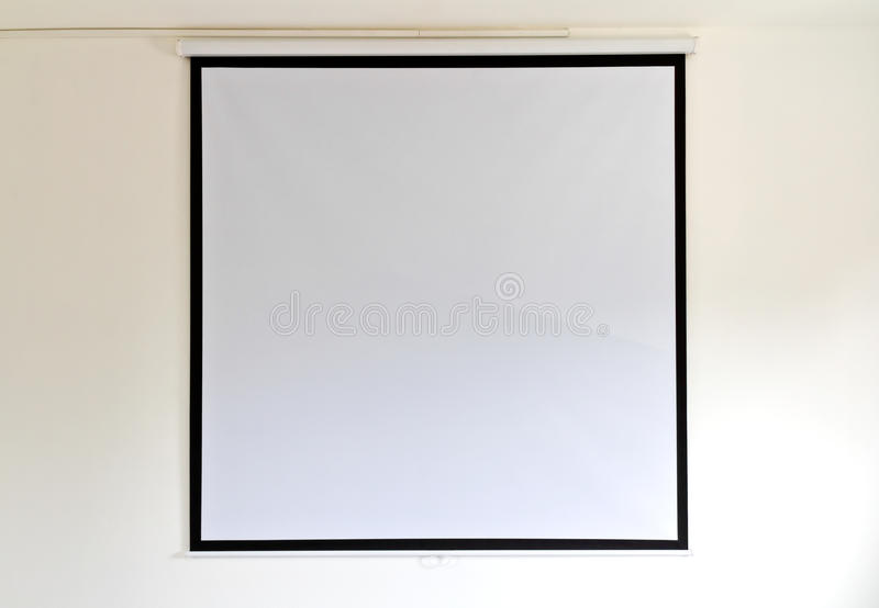 Screen projectors royalty free stock photos