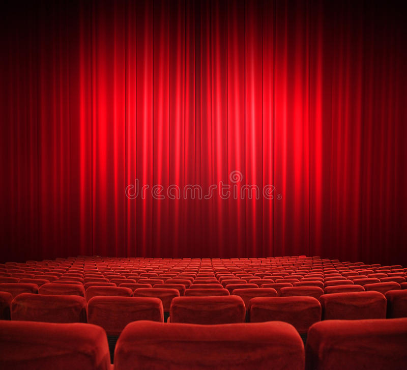 Download Screening stock image. Image of auditorium, drapes, background - 24106931