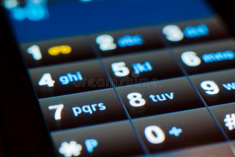 Screentelefon lizenzfreie stockbilder