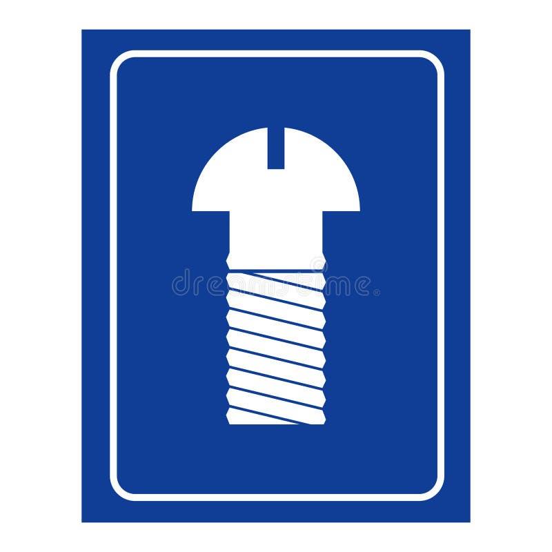 mens room icon. Logo for WC men royalty free illustration