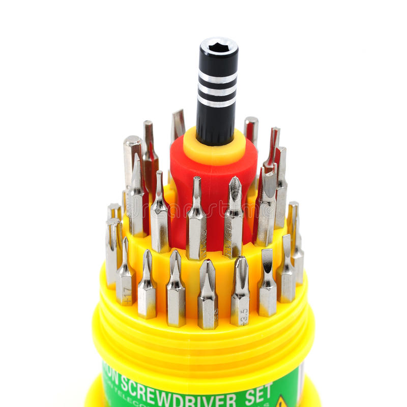 Download Screwdriver Set stock photo. Image of instrumentation - 29392934