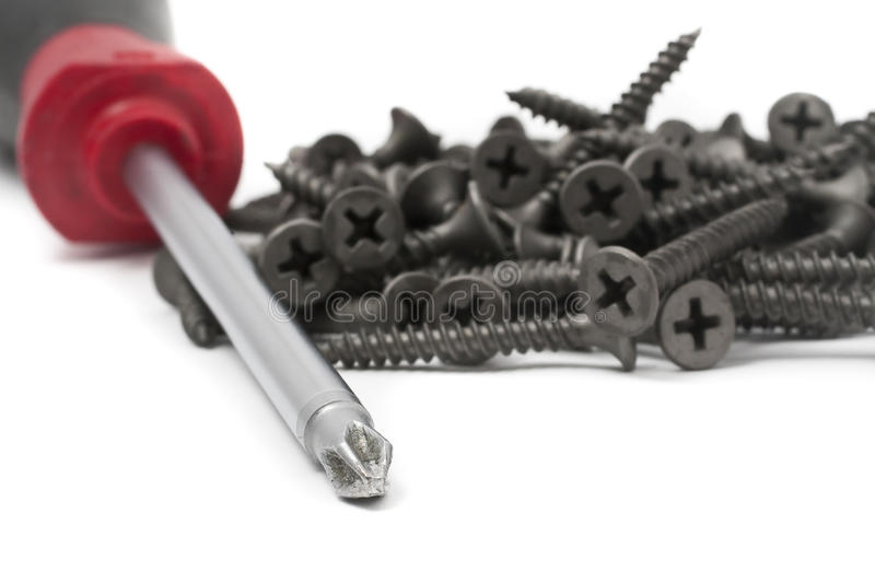 Download Screws with Driver stock photo. Image of improvement - 10092986