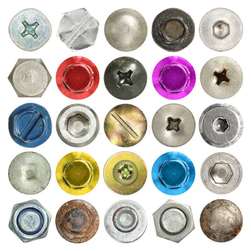 Free Screws Head Collection Stock Photo - 41822830