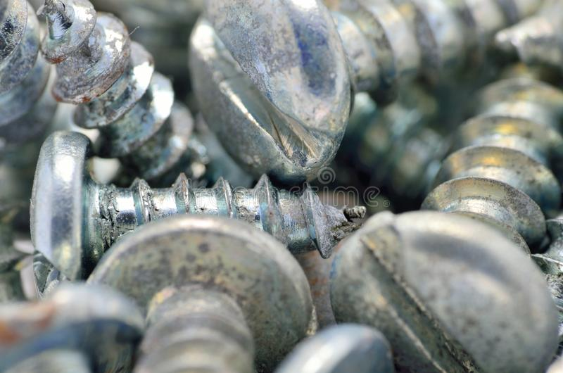 Download Screws Macro stock image. Image of industry, objects - 29956757