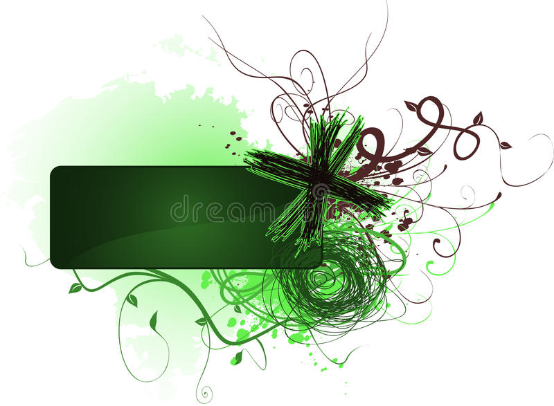 Scribble Banner Royalty Free Stock Images