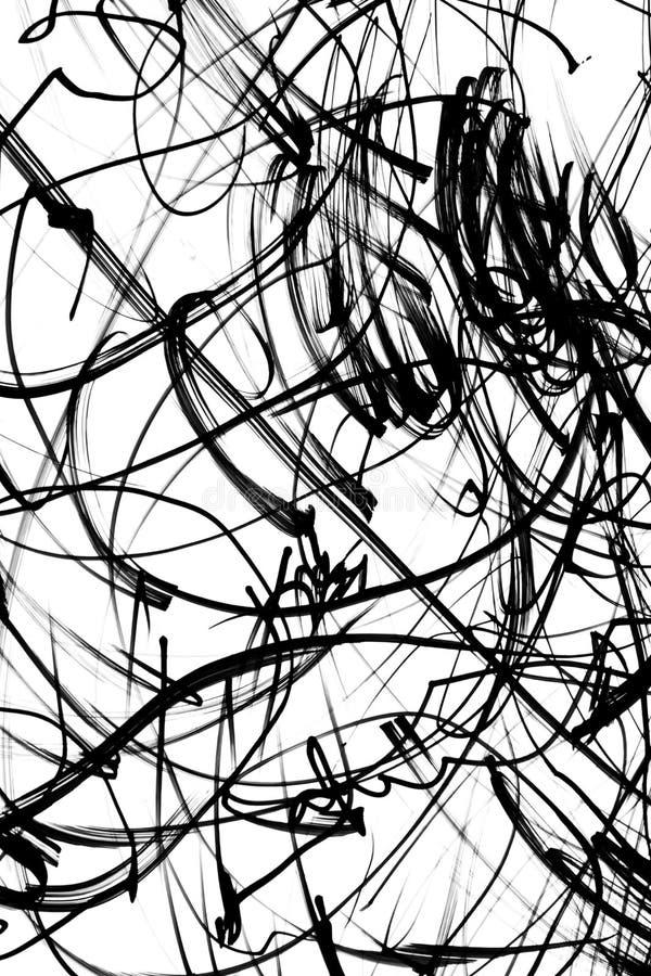 scribbles стоковое изображение rf